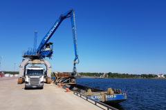 saneringstransport lasthamnen sidobild anläggning
